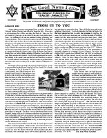 August 1995 newsletter in English