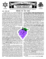 January/February 1997 newsletter in English