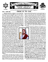 May/June 1998 newsletter in English