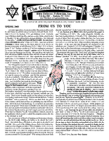 Spring 2000 newsletter in English
